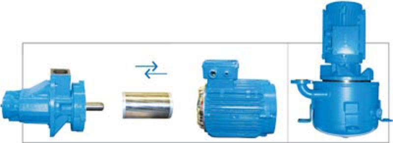 FLEX single shaft solution series
