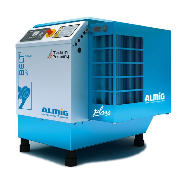 Screw compressor BELT PLUS series 4-37