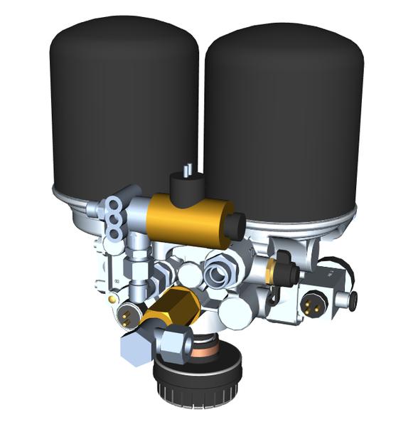 TAD 1000 – Dual-chamber dryer