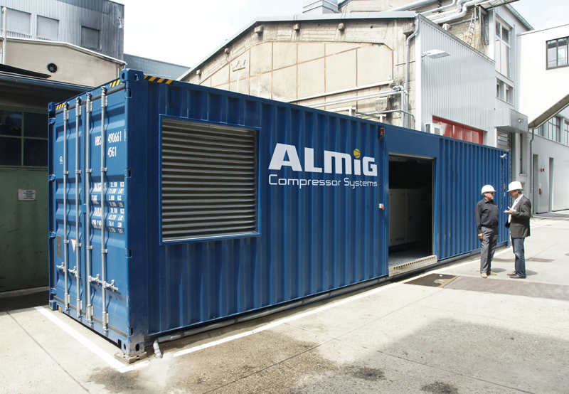 Модульная компрессорная станция ALM-BOX на базе морского контейнера